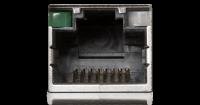 RJ-45 Anschluss für Ethernet / LAN. Damit können Sie Ihren Computer mit einem Kabel mit Ihrem Router / dem Internet verbinden