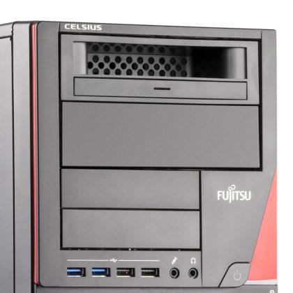 Die Celsius M740 Workstation ist skalierbar -mehrere Festplatten zu betreiben ist kein Problem