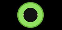 der grüne Mino-Klinken Anschluss am PC ist das Line-Out