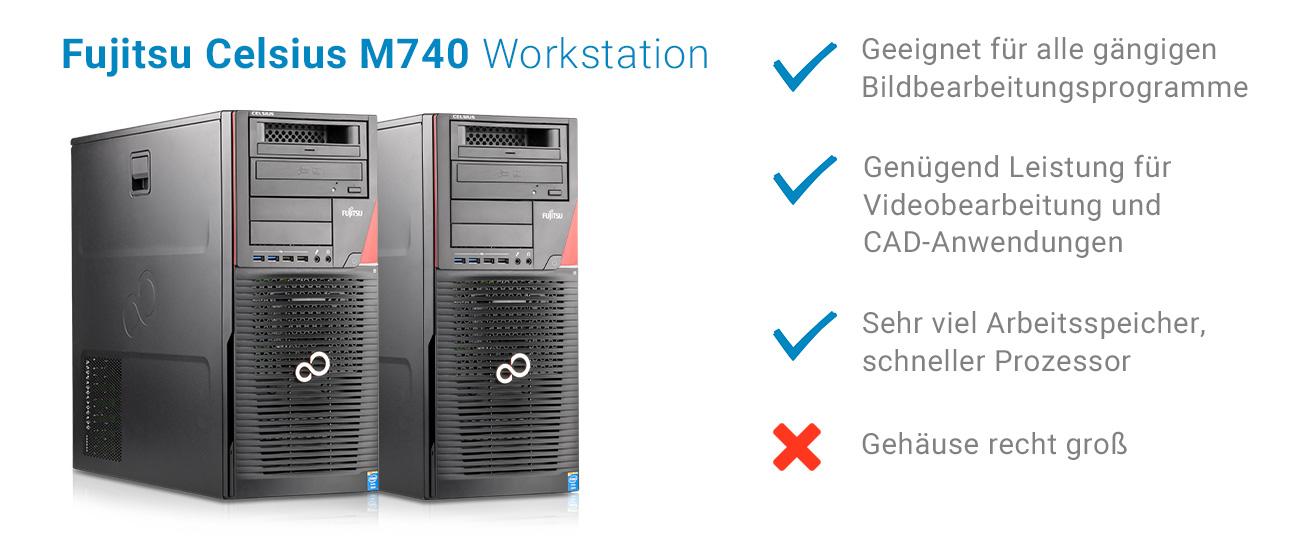 Günstige gebrauchte Workstation für Videoschnitt, Bildbearbeitung und CAD kaufen