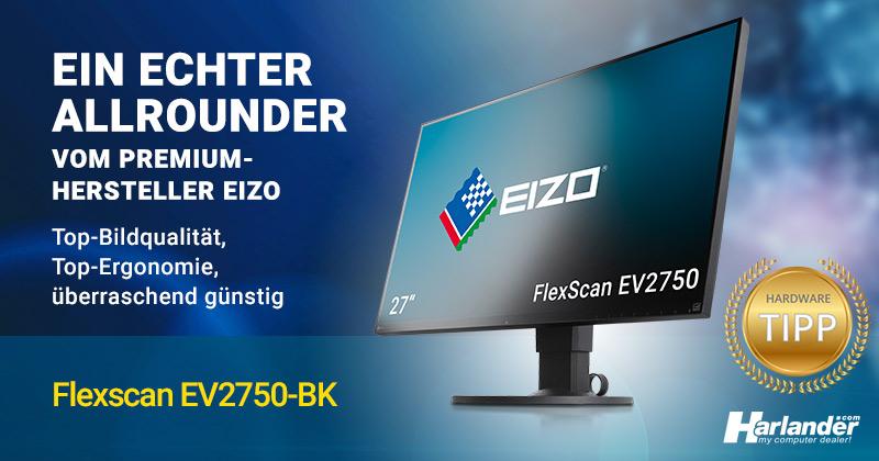 Monitor vom Premium-Hersteller Eizo – ein echter Allrounder zum günstigen Preis