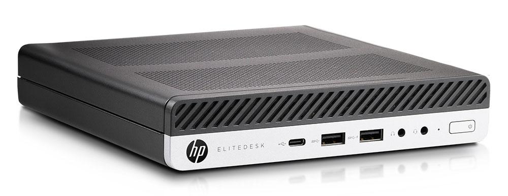 Gebrauchte Technik muss nicht veraltet sein: Setzen Sie auf gebrauchte Top-Computer von HP - der Mini PC Elitdesk 800 g4 dm