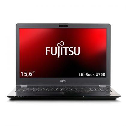 gebrauchtes Notebook von Fujitsu, das Windows 11 fähig ist