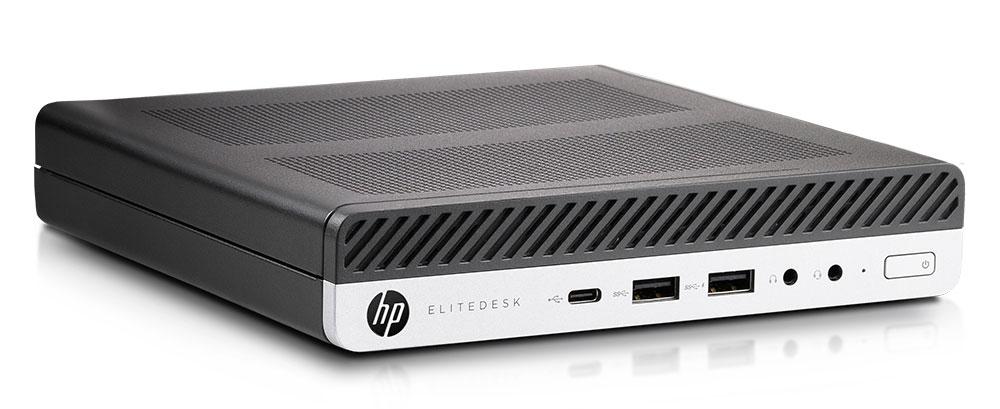Gebrauchte Technik muss nicht veraltet sein: Setzen Sie auf gebrauchte Top-Computer von HP - der Mini PC Elitdesk 800 G5 DM - kompatibel zu WIndows 11